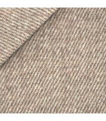 giacca da uomo su misura, bottoli, eco twill diagonale crema, autunno inverno