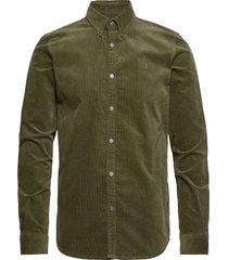 felix corduroy shirt overhemd casual groen les deux