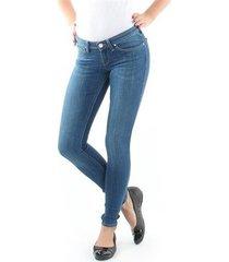 skinny jeans lee toxey indigo blue l527pfig
