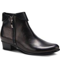 women's spring step stockholm bootie, size 9us - black