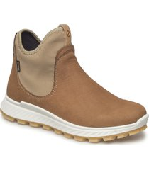 exostrike w shoes boots ankle boots ankle boot - flat brun ecco