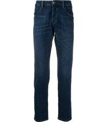 diesel tapered d-blazer jeans - blue