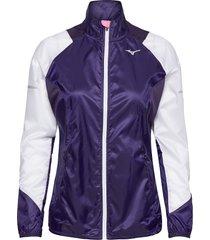 aero windtop outerwear sport jackets lila mizuno