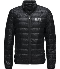 giacca piumino fodrad jacka svart ea7