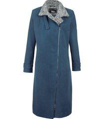cappotto corto con chiusura asimmetrica (blu) - bpc bonprix collection