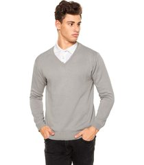 suéter officina do tricô prata.