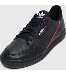 zapatilla continental 80 negro adidas originals