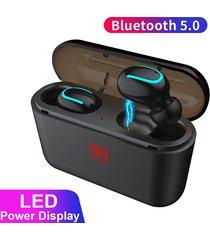 audífonos bluetooth 5.0 tws manos libres deportes portátil