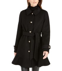 kate spade new york skirted belted coat
