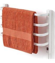 toalheiro térmico 110v para 1 toalha fio lado direito branco