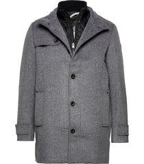 wool coat no wollen jas lange jas grijs tom tailor