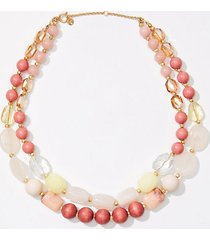 loft beaded statement necklace