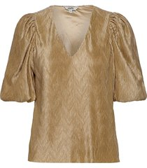 abela blouses short-sleeved guld mbym