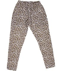 pantalón animal print btr
