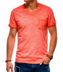 ombre heren t-shirt s1053 oranje -