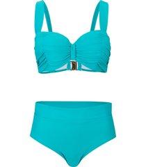 bikini con ferretto (set 2 pezzi) (blu) - bpc selection