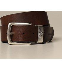 emporio armani belt emporio armani classic belt in calfskin