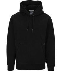 helmut lang cross back strap hoodie