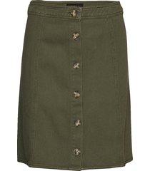 karm skirt knälång kjol grön soft rebels