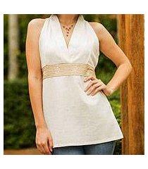 cotton blouse, 'smart chic' (thailand)