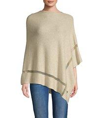 wool & cashmere poncho