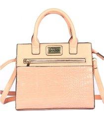 vera new york women's ellen vegan leather satchel