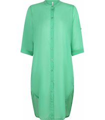 luxury voile blouse green