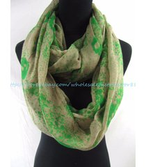 us seller- cheap eternity scarf gothic skull infinity scarf