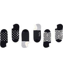 happy socks women's 3-pack optic dot liner sock