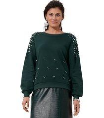 sweatshirt amy vermont donkergroen