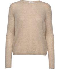 ines mohair sweater gebreide trui beige filippa k
