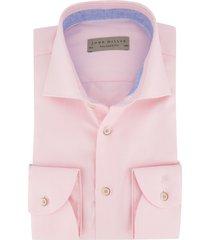 mouwlengte 7 john miller overhemd roze structuur