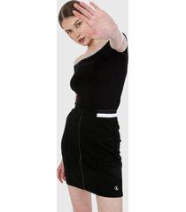 blusa negro-blanco calvin klein