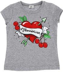 monnalisa heart tattoo t-shirt