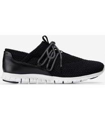 calzado dama negro  zerogrand quilted sneaker cole haan