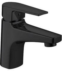 misturador monocomando para banheiro mesa level black noir bica baixa - 2875.bl26.no - deca - deca