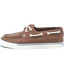 tenis casual para hombre galleytumbled nautica-marrón