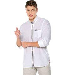 camisa blanca-azul-rojo tommy hilfiger