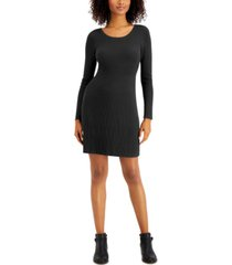 style & co ribbed sweater dress, created for macy's