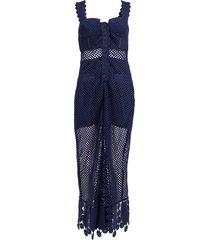 fishnet crochet lace jumpsuit