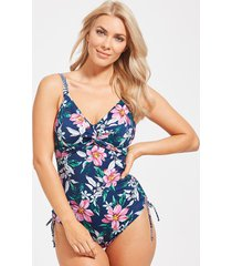 port maria underwire adjustable one-piece swimsuit