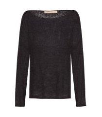 blusa feminina shirley maclaine - preto