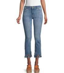 dl1961 women's mara instasculpt straight jeans - upstate - size 28 (4-6)