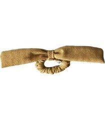 elástico de cabelo scrunchie ania store laço