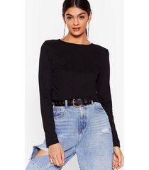 tie call me later ribbed crop top