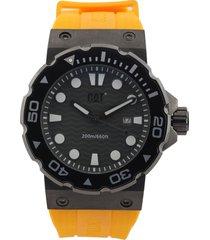 reloj amarillo-negro caterpillar