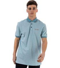 mens handie oxford golf polo shirt