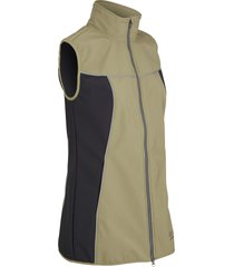 gilet tecnico in softshell (verde) - bpc bonprix collection