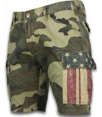 korte broek bb bread buttons korte broeken camouflage shorts licht