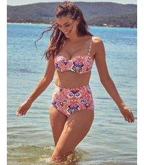 salma underwire bandeau bikini top b-dd cup